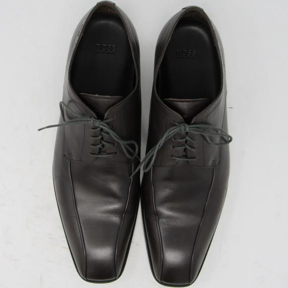 Hugo Boss 'Remy' derby dress shoe mens size *11